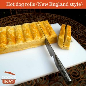 New England Style Hot dog rolls