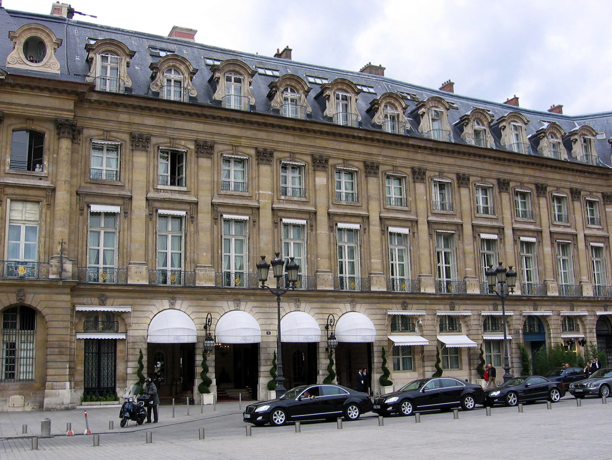 Hôtel Ritz Paris. 2006.