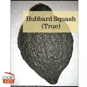 True hubbard squash