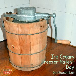 Hand-crank ice cream maker