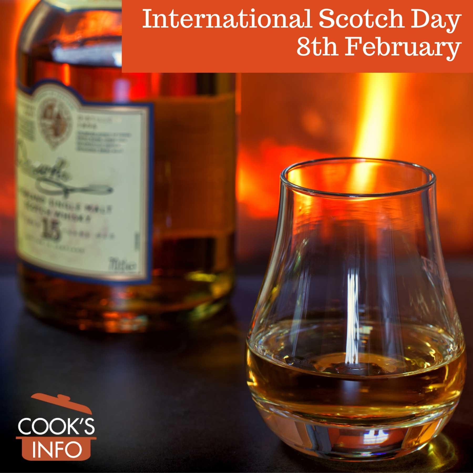 Glass of scotch