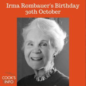 Photo of Irma S. Rombauer