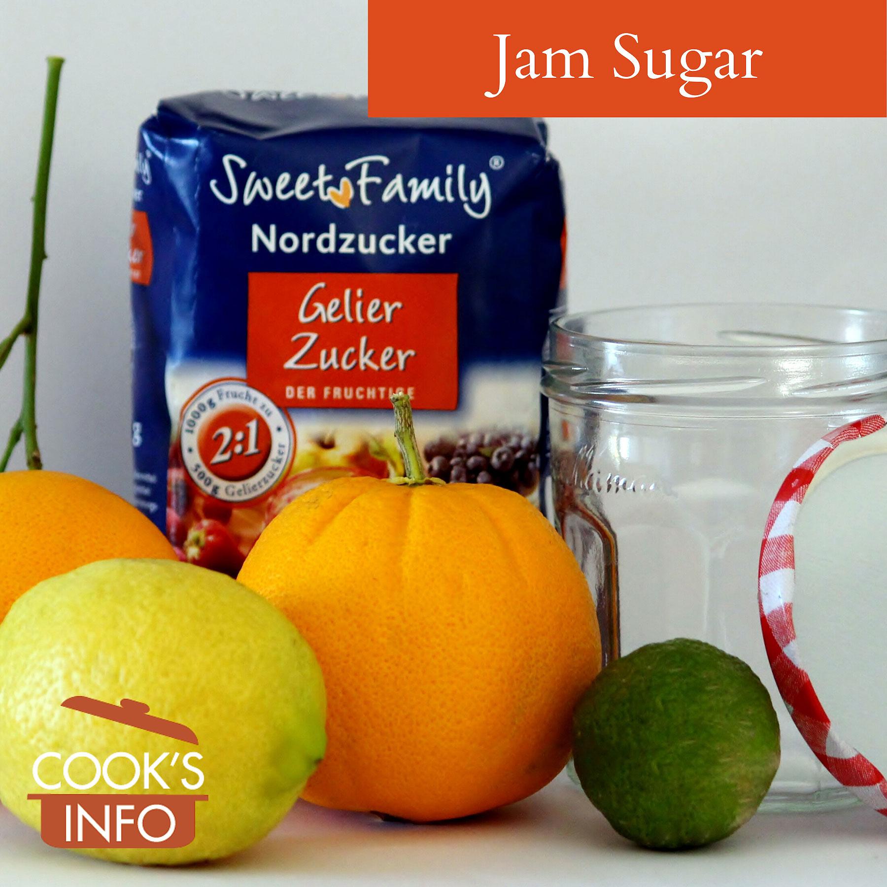 Jam sugar aka gelling sugar