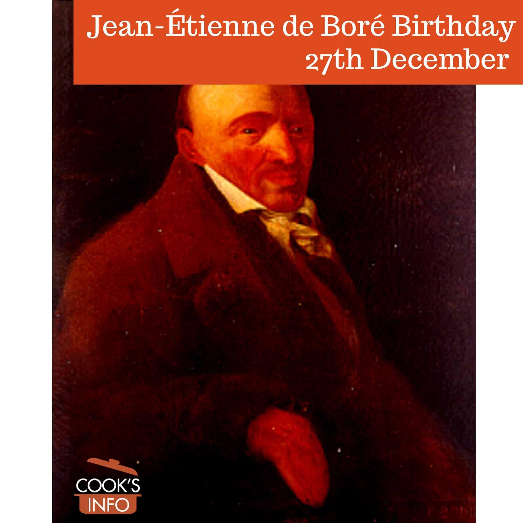 Jean-Étienne de Boré