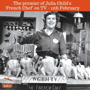 "Julia Child in ""The French Chef"""