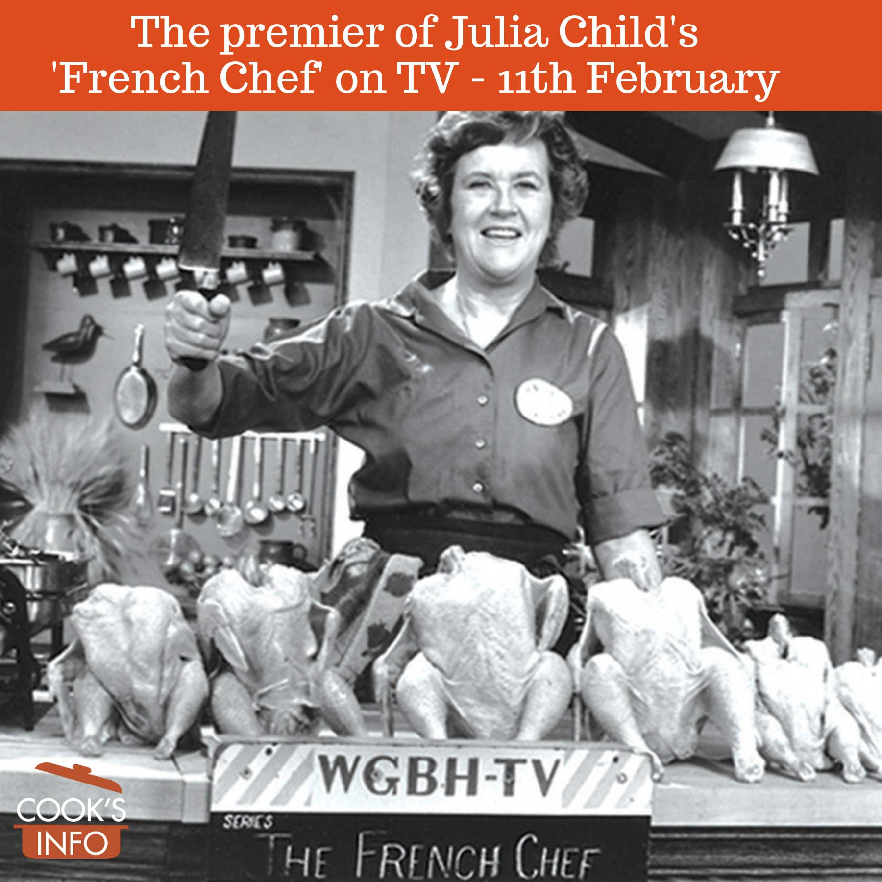 """Julia Child in """"The French Chef"""""""