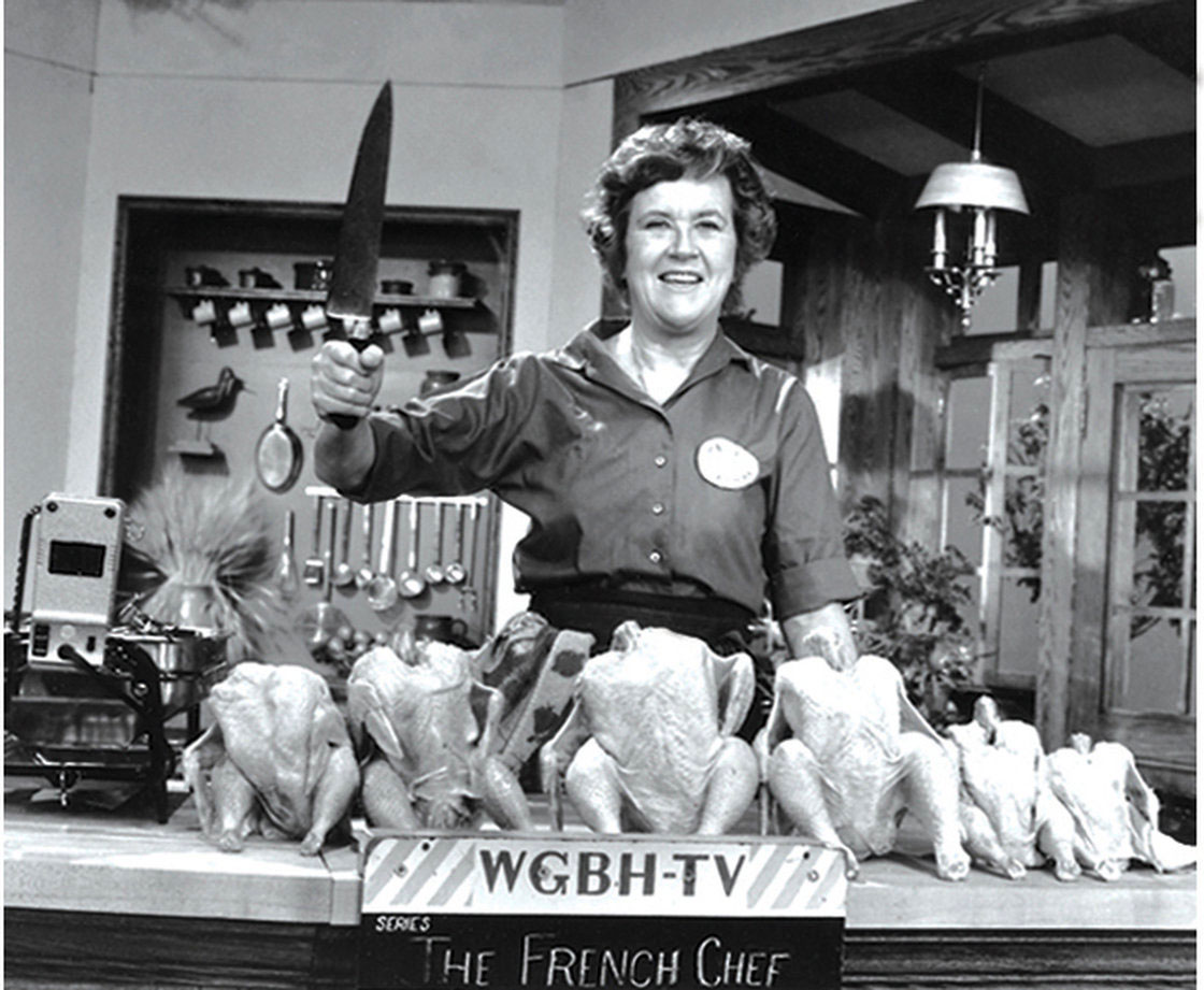 Julia Child on the French Chef.