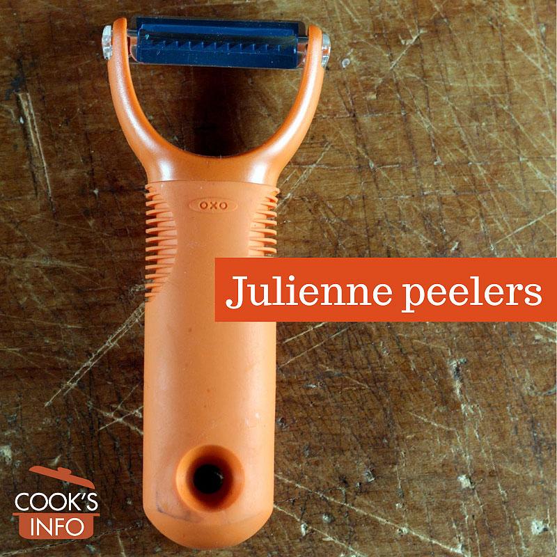 Julienne peeler OXO brand