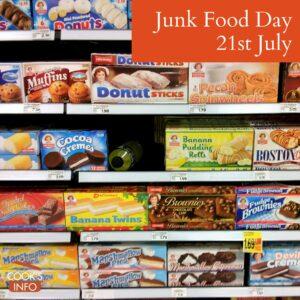 Junk food shelf
