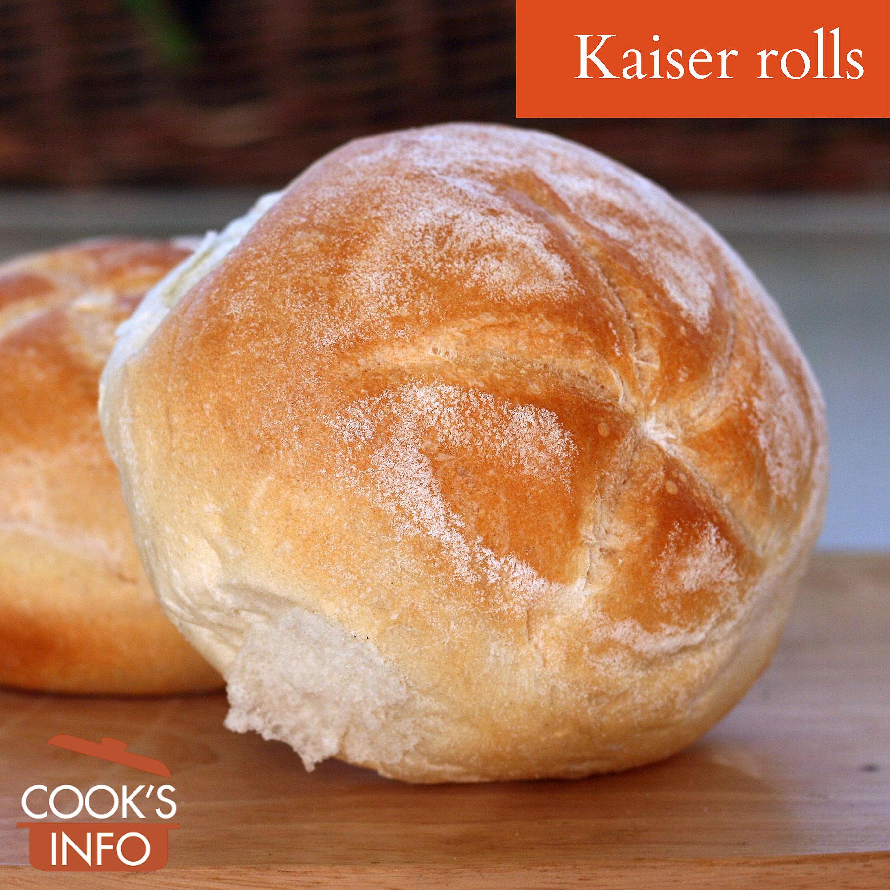 Kaiser rolls