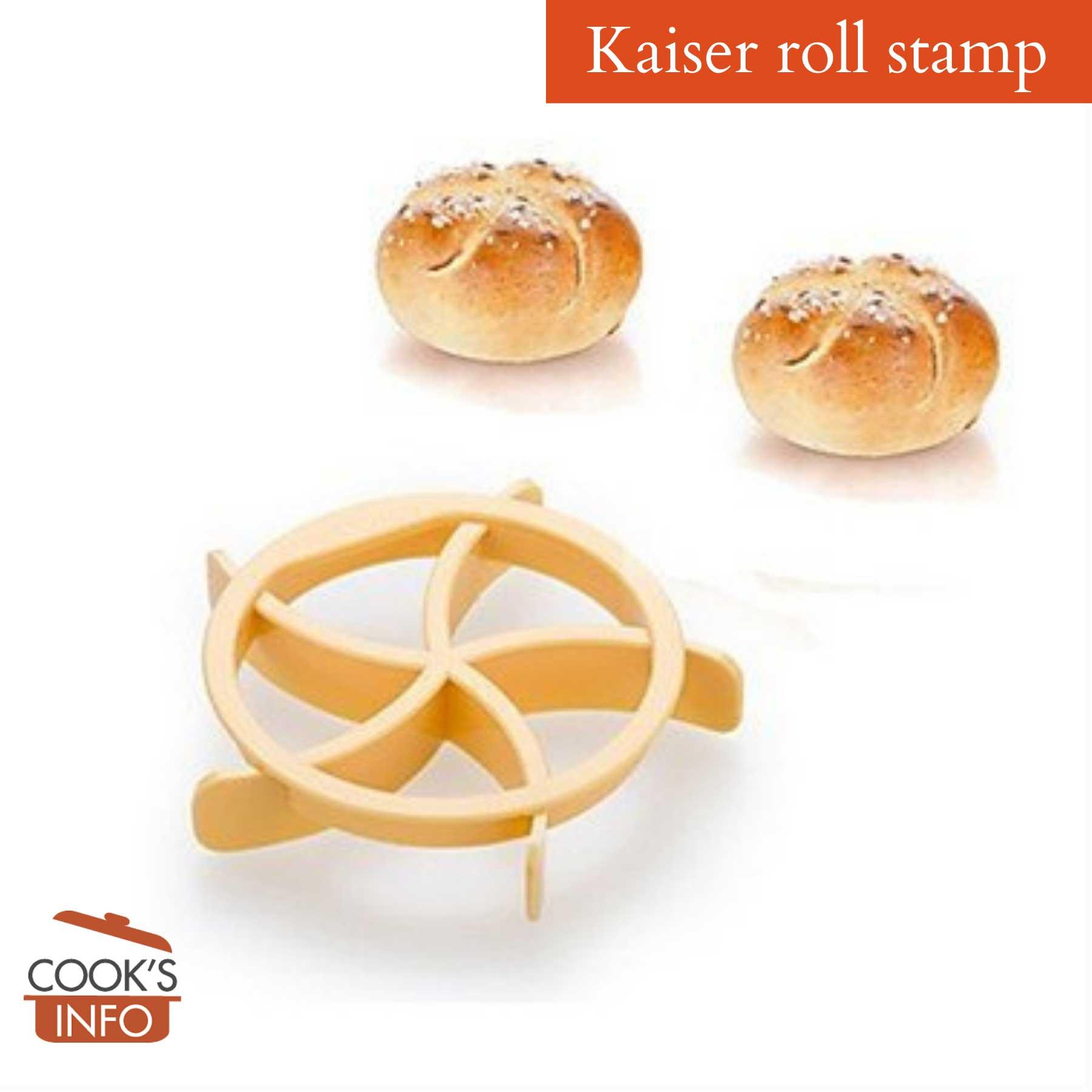 Kaiser roll stamp