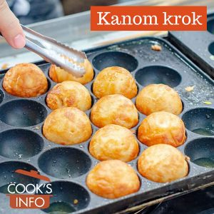 Kanom krok in pan