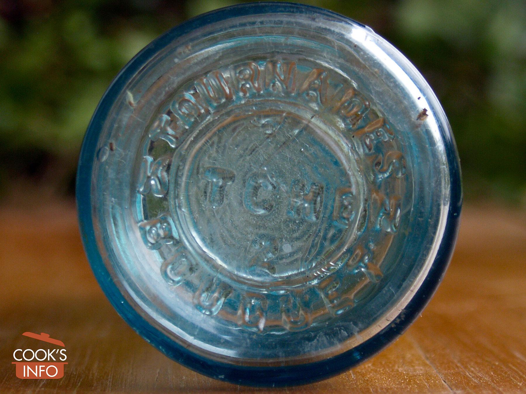 Tournaude's Kitchen Bouquet original bottle