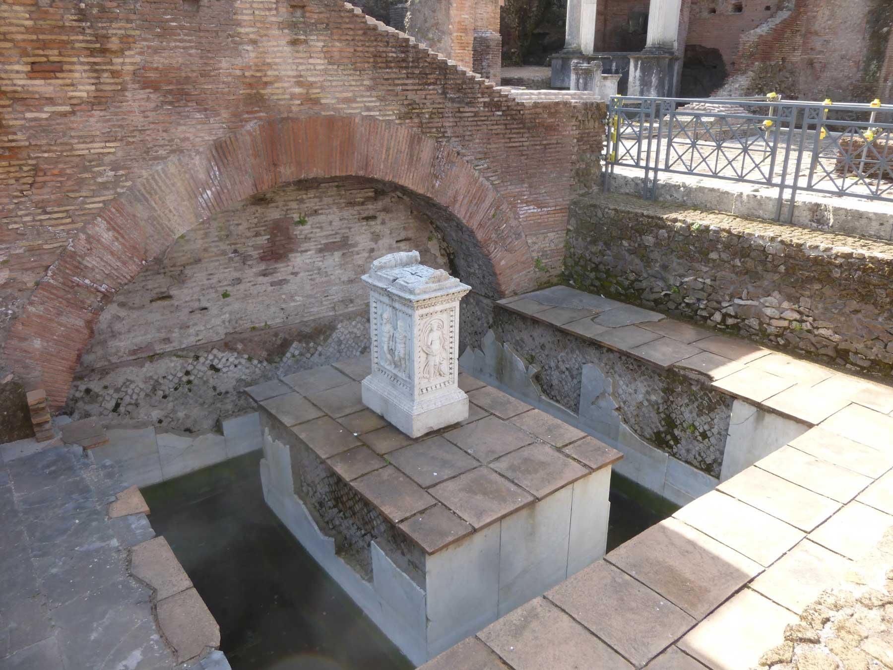 Pool of Juturna in Rome