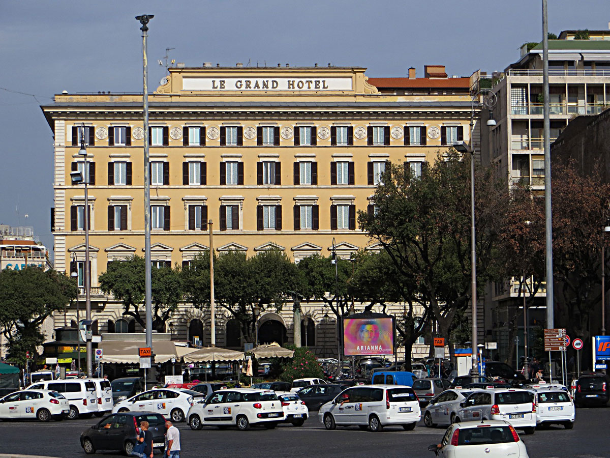 Le Grand Hotel Rome