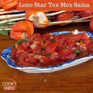 Lone Star Tex Mex Salsa