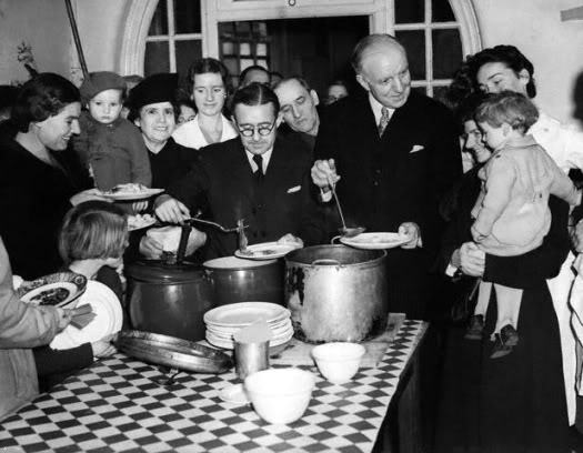 Lord Woolton Minister of Food 1941