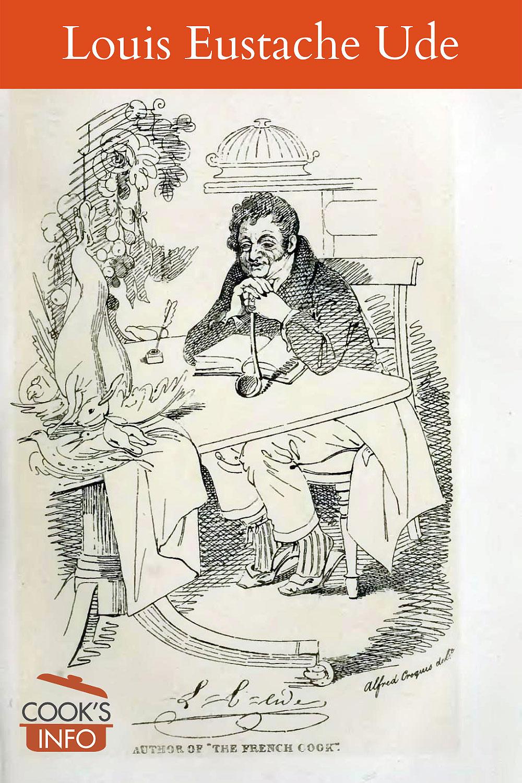 Louis Eustache Ude, pencil sketch