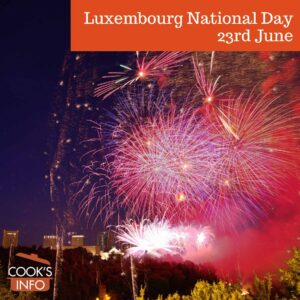 Luxembourg National Holiday Fireworks
