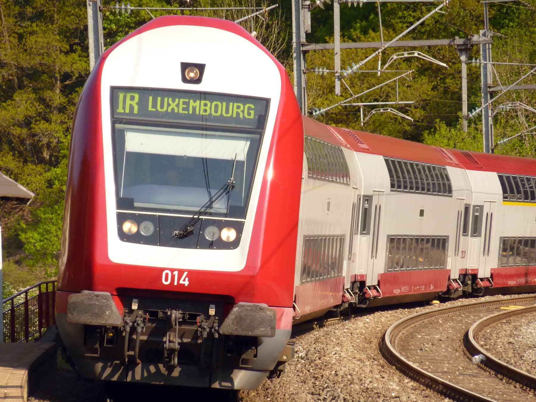 Luxembourg train