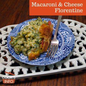 Macaroni & Cheese Florentine