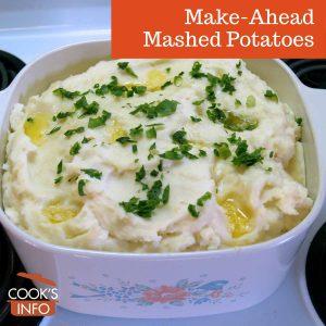 Make-Ahead Mashed Potatoes