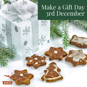 Christmas cookies as gift