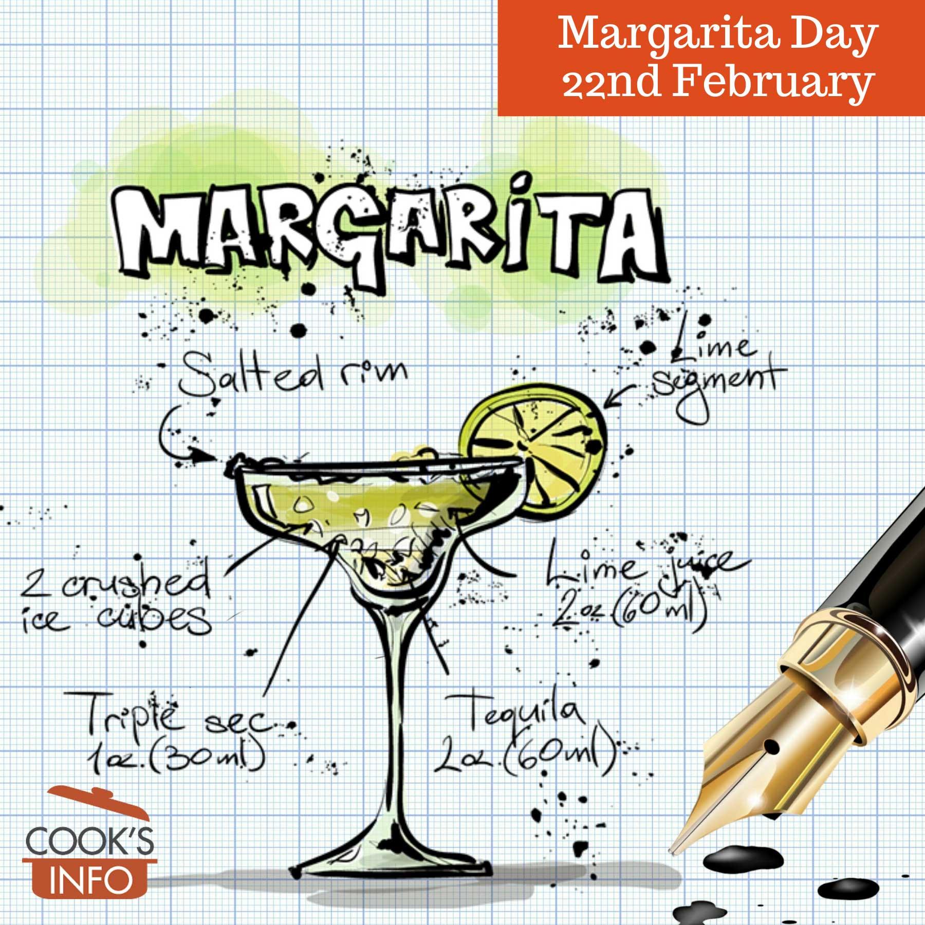 Margarita glass and recipe