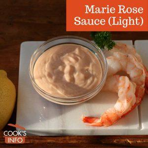 Marie Rose Sauce Recipe (Light)