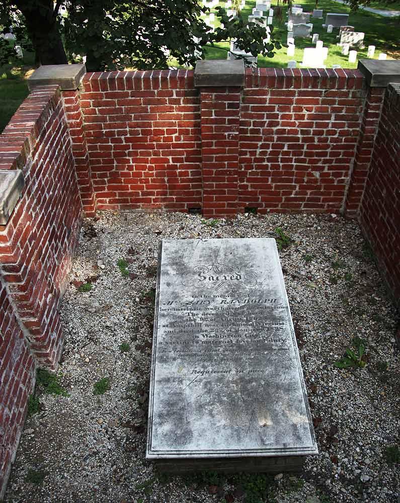 Mary Randolph grave
