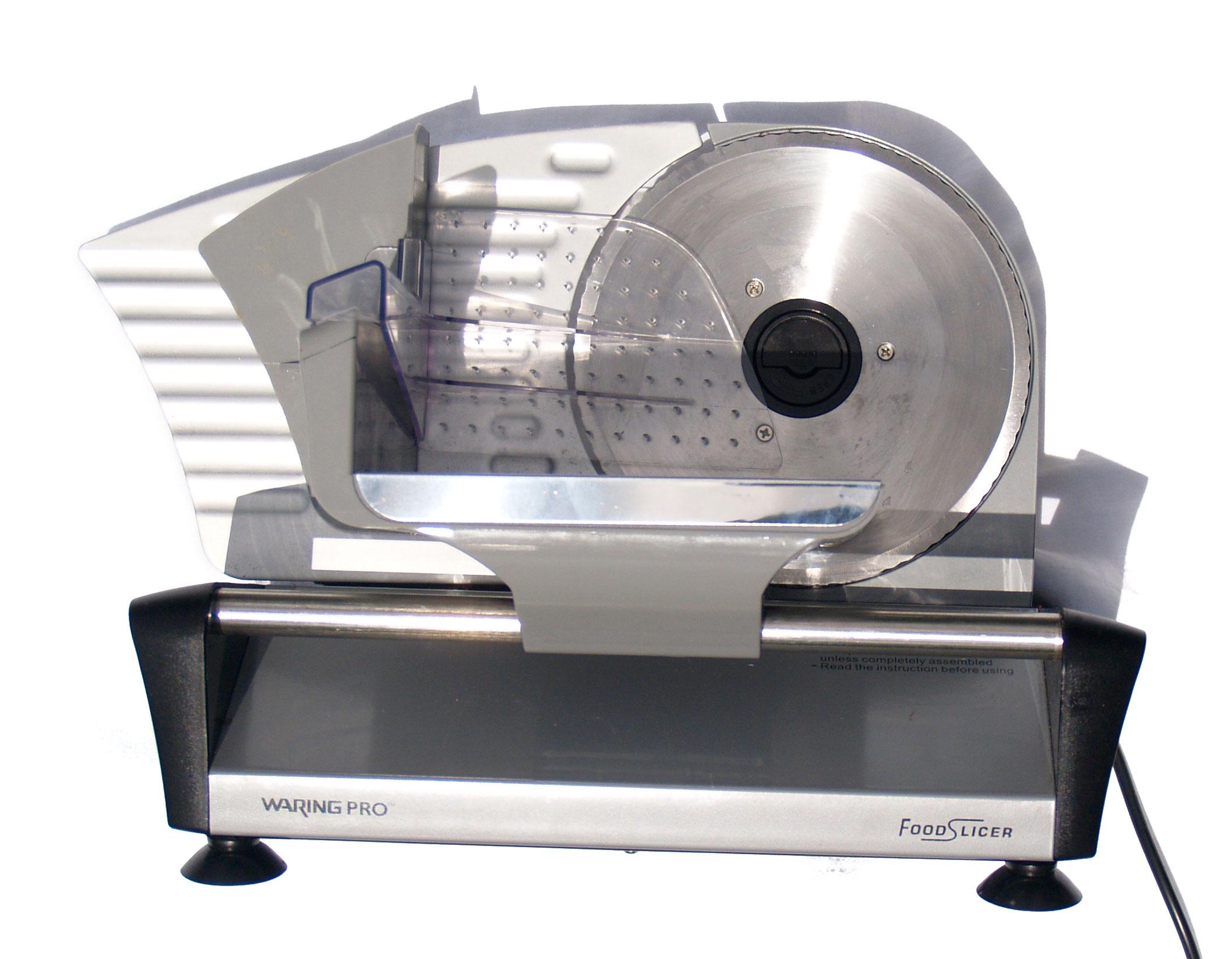 Consumer grade meat slicer