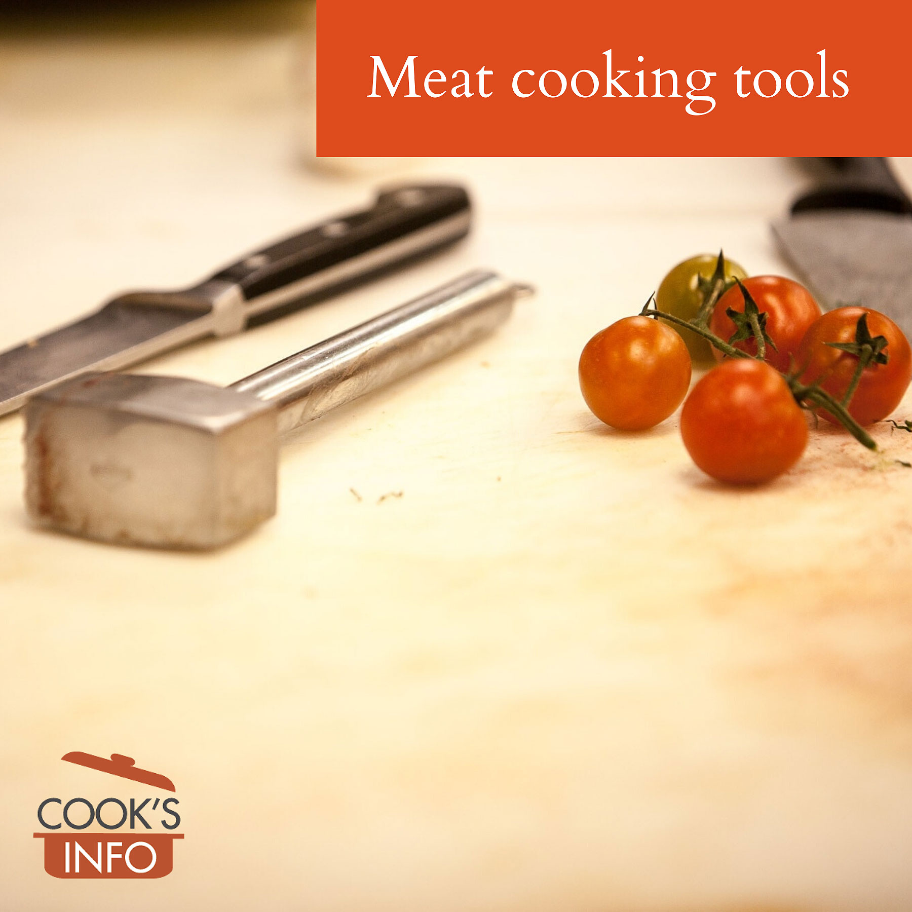 Meat cooking tools