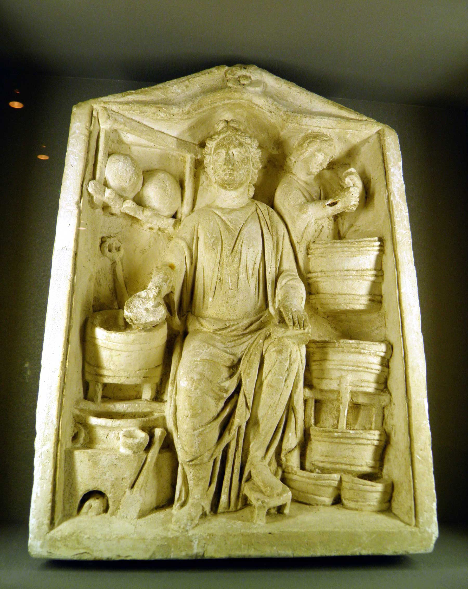 Relief of Meditrina in Grand, France