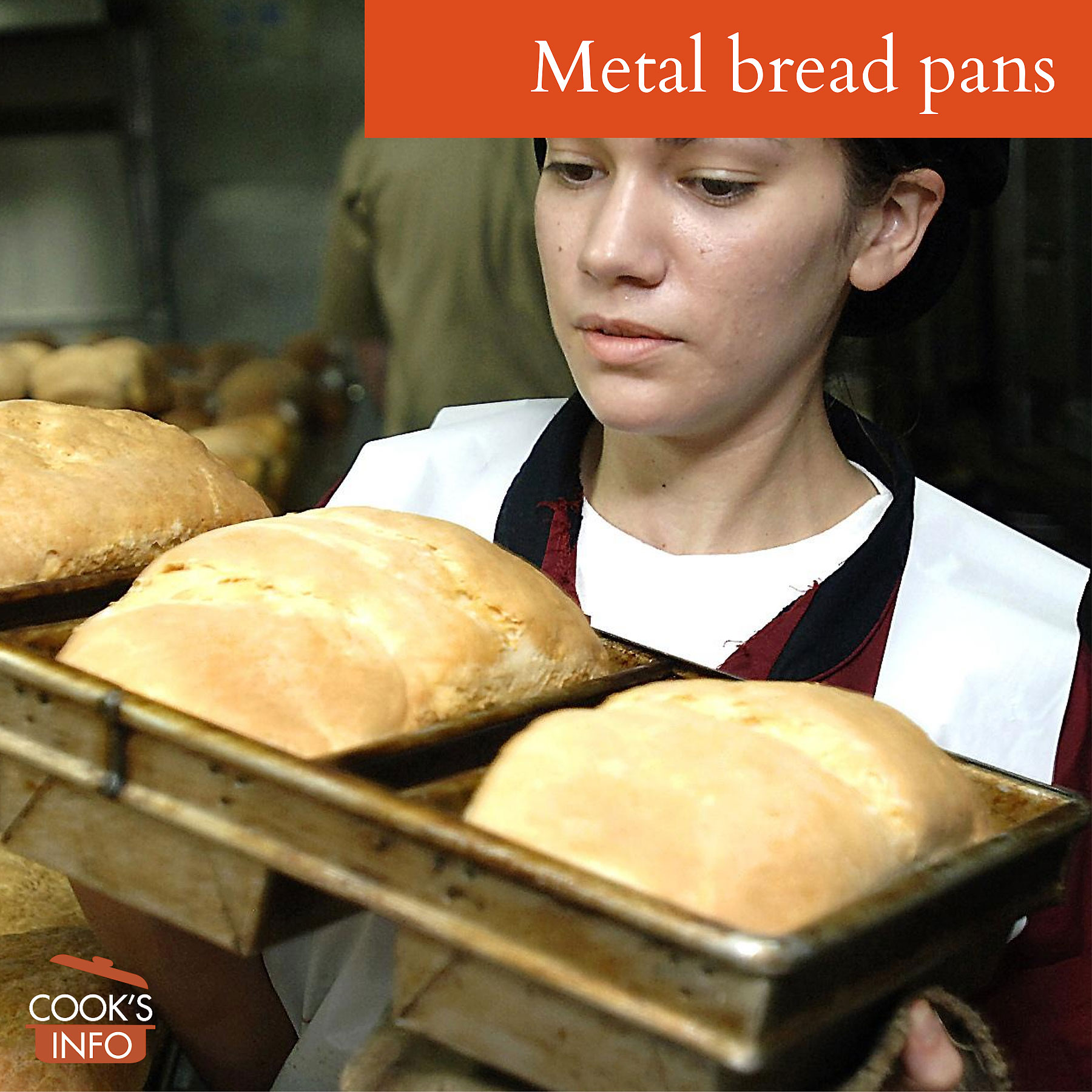 Baker's bread pans