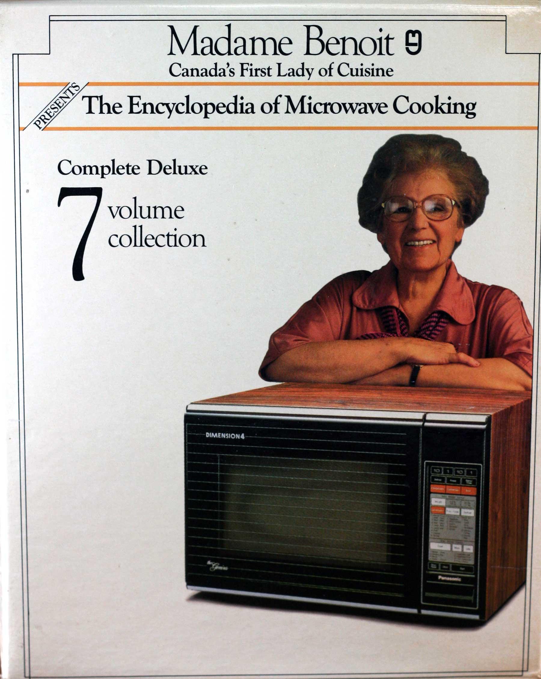 Madame Benoit microwave cooking books