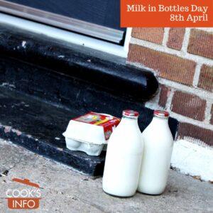 Milk in bottles