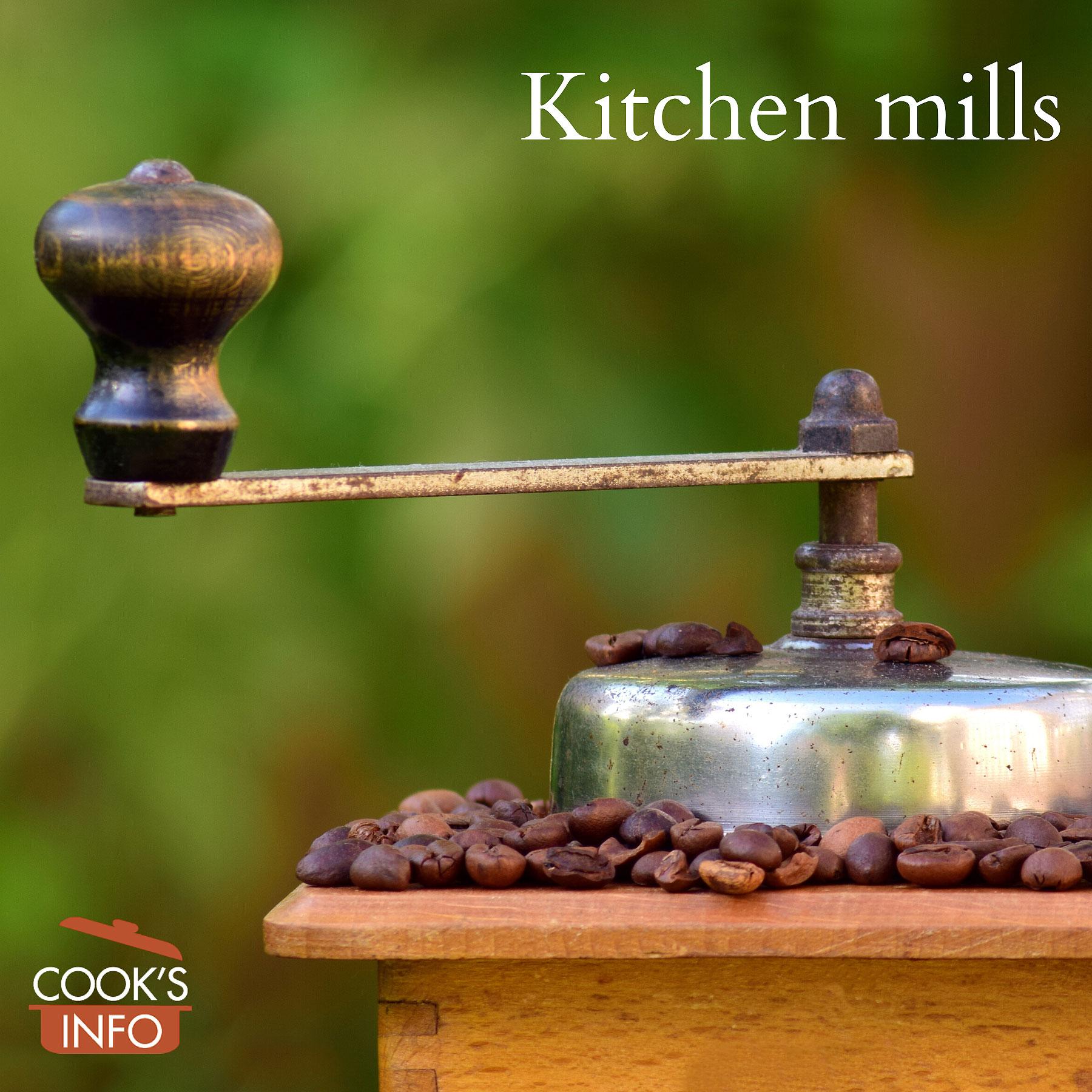 top of coffee grinder