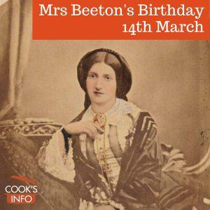 Isabella Mary Beeton