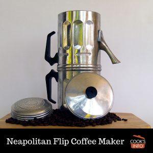 Neapolitan Flip Coffee Maker