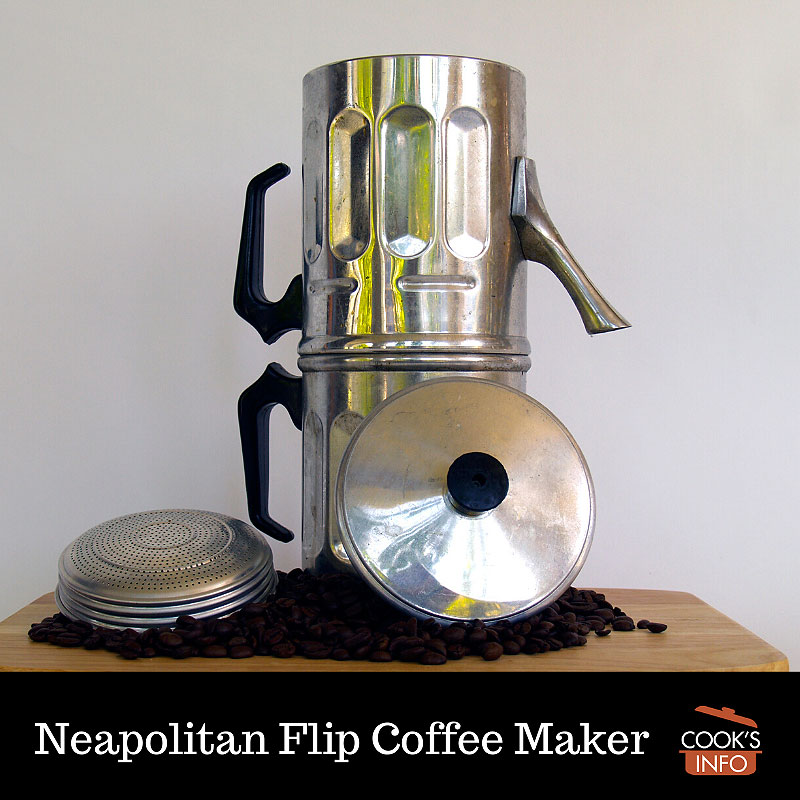 Neapolitan Flip Coffee Maker