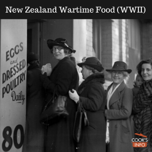 New Zealand Wartime Food (WWII)