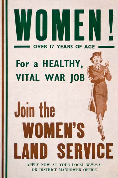 New Zealand Women's Land Service Poster