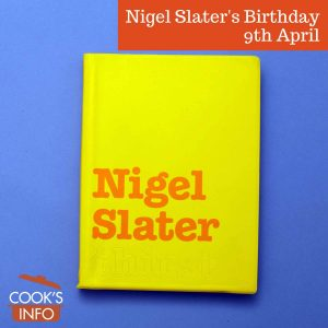 Nigel Slater book
