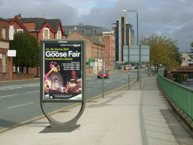 Goose fair sign