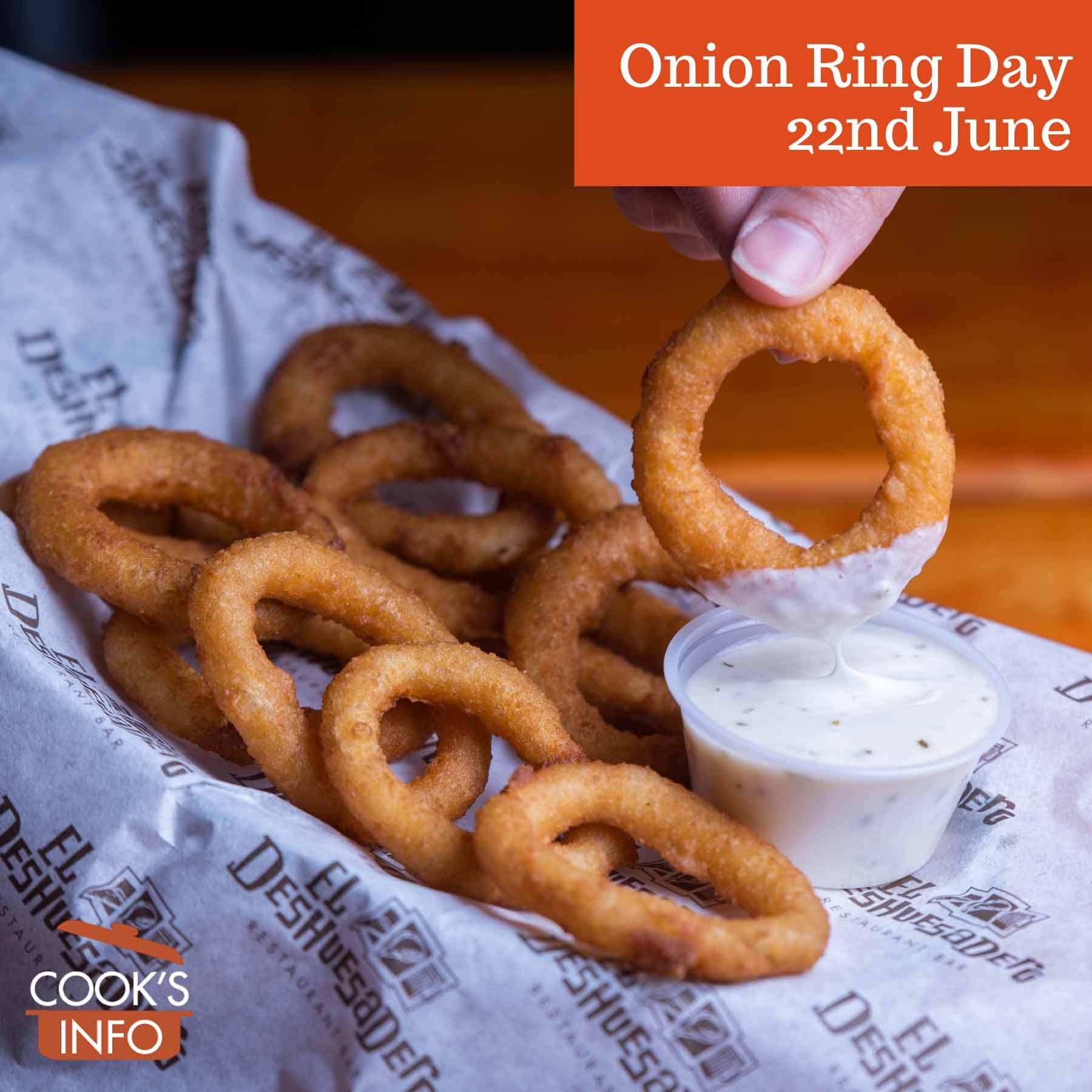 Basket of onion rings