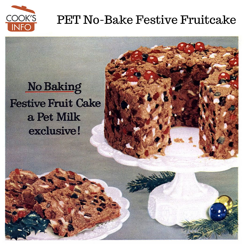 Pet No-Bake Festive Fruit Cake