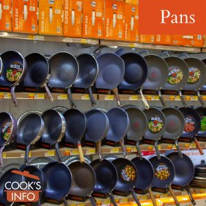 Store display of pans