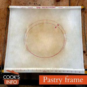 Pastry frame