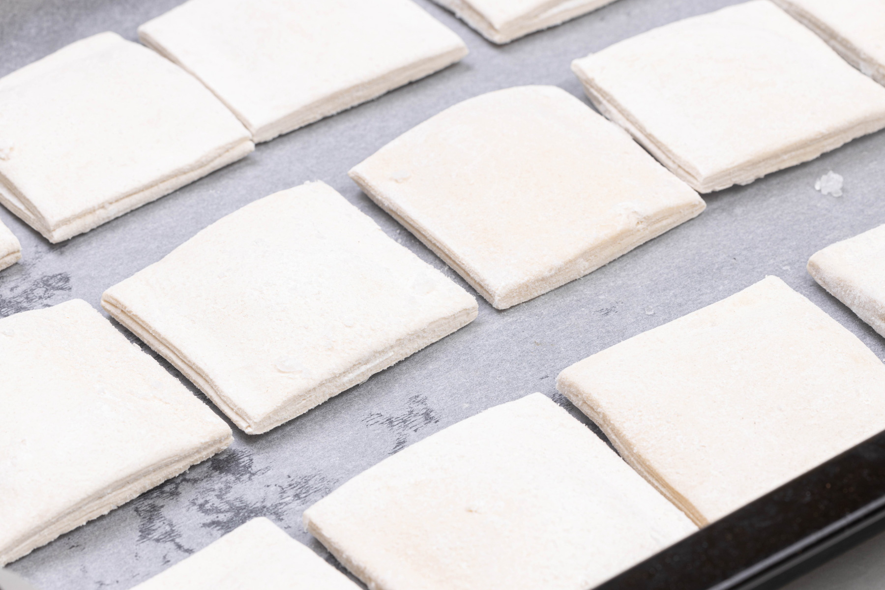 Pastry squares