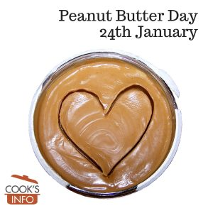 Peanut butter with heart in it